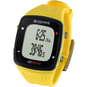 SIGMA SPORT ID.Run Urheilukello, yellow